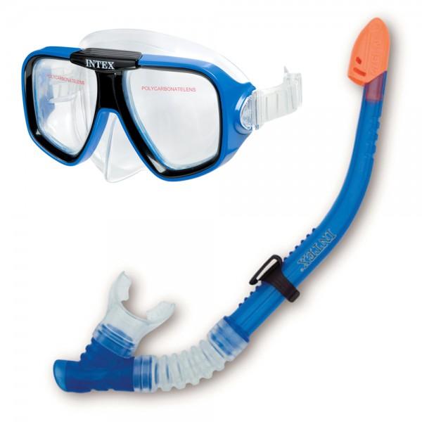 INTEX Schnorchel Tauch Set Reef Rider Tauchmaske Taucherbrille + Schnorchel