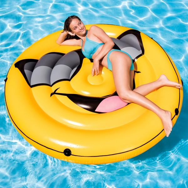 INTEX Cool Guy Island Ø 173cm Badeinsel Luftmatratze Wasserliege Schwimmliege