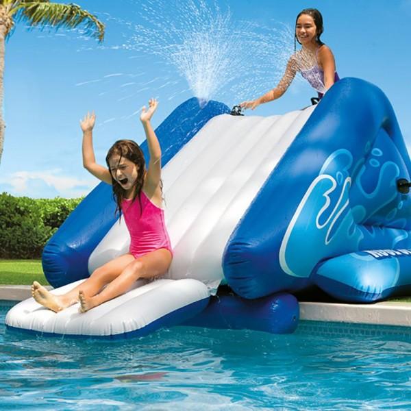 INTEX Wasserrutsche für Pool Kinderutsche aufblasbar Water Slide