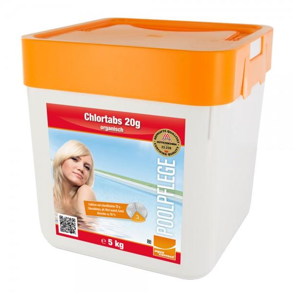 Steinbach 5 kg Chlortabs 20g Chlortabletten Chlor Pool Schwimmbad Swimmingpool