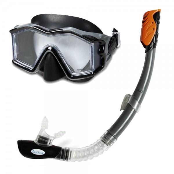 INTEX Tauch Set Explorer Pro Tauchmaske Taucherbrille + Schnorchel