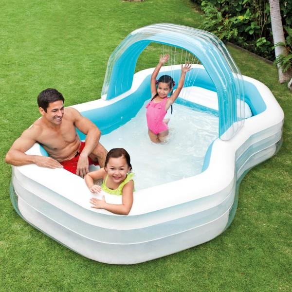 INTEX Family Swim Center Cabana Swimming Pool Planschbecken Kinderpool