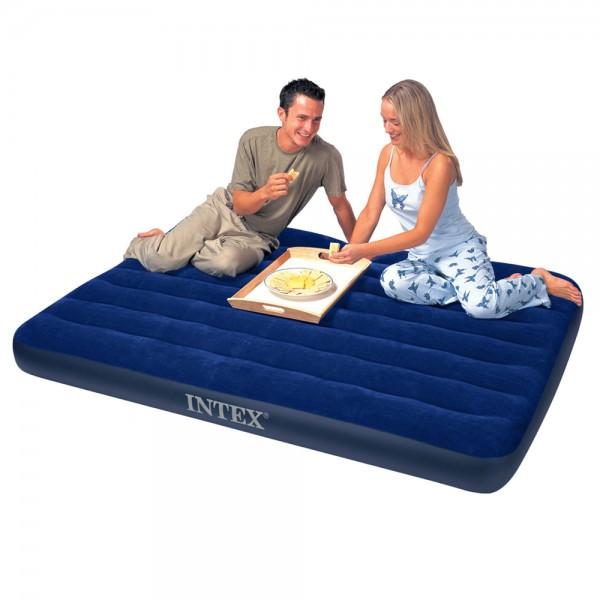 INTEX Classic Full Luftbett Gästebett 191x137x25cm Luftmatratze Bett
