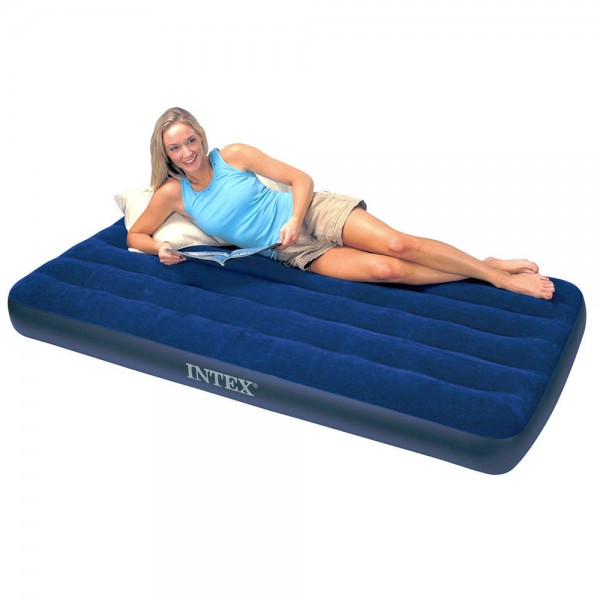 INTEX Classic Single Luftbett Gästebett 191x99x25cm Luftmatratze Bett