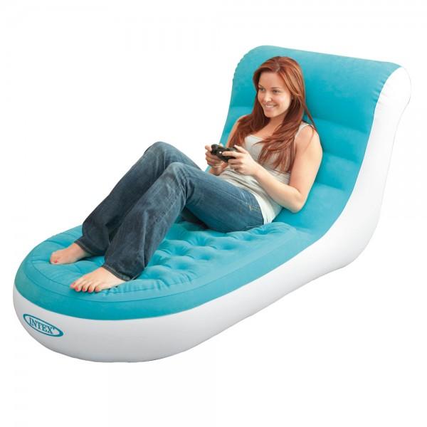 INTEX Splash Lounge Sessel Fernsehsessel Luftmatratze Schwimmliege für Camping