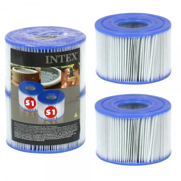INTEX Filter Filterkartusche S1 24er Pack / 24 Ersatzfilter für PureSPA 29001