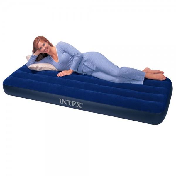 INTEX Classic Single Luftbett Gästebett 191x76x25cm Luftmatratze Bett