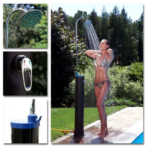Speedshower Solardusche Solar Dusche Pool Gartendusche Campingdusche