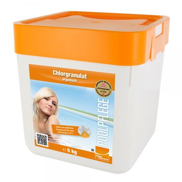 Steinbach 5kg Chlorgranulat Chlor Granulat Pool Schwimmbad Pflege 56% Aktivchlor