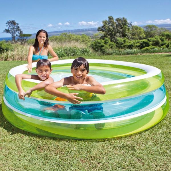 INTEX Swim Center See Trough 203x51cm Swimming Pool Planschbecken Kinderpool