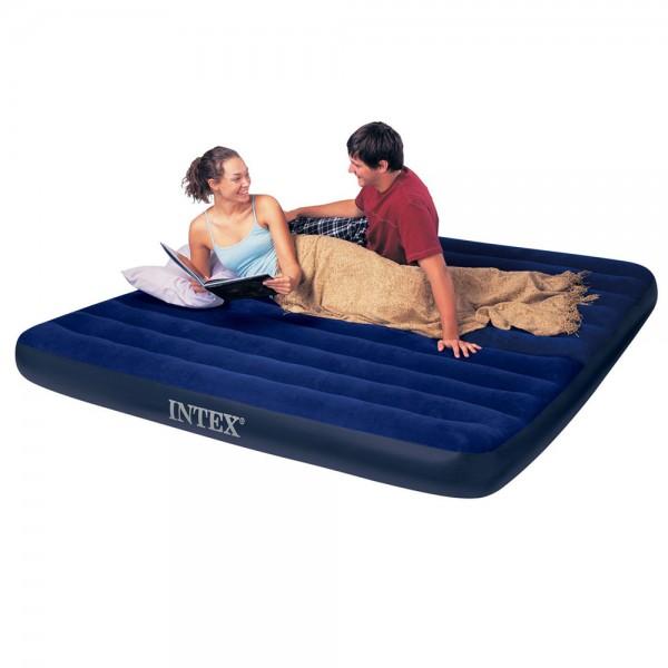 INTEX Classic King Luftbett Gästebett 203x183x25cm Luftmatratze Bett
