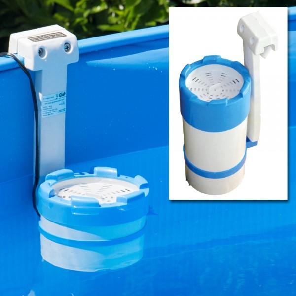 Einhängefilter Poolfilter Kartuschenfilter 1.700 l/h Pool Pumpe Filterpumpe