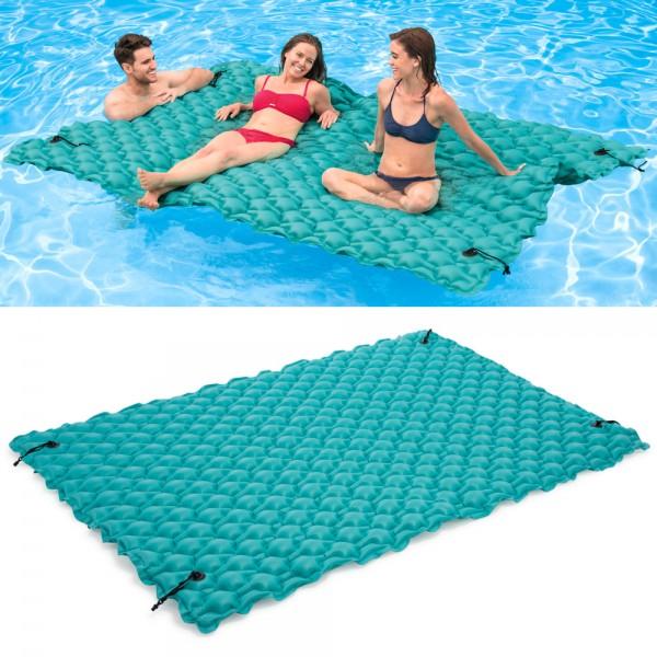 INTEX XXL Schwimmliege Luftmatratze Badeinsel Wasserliege Poolliege für Pool