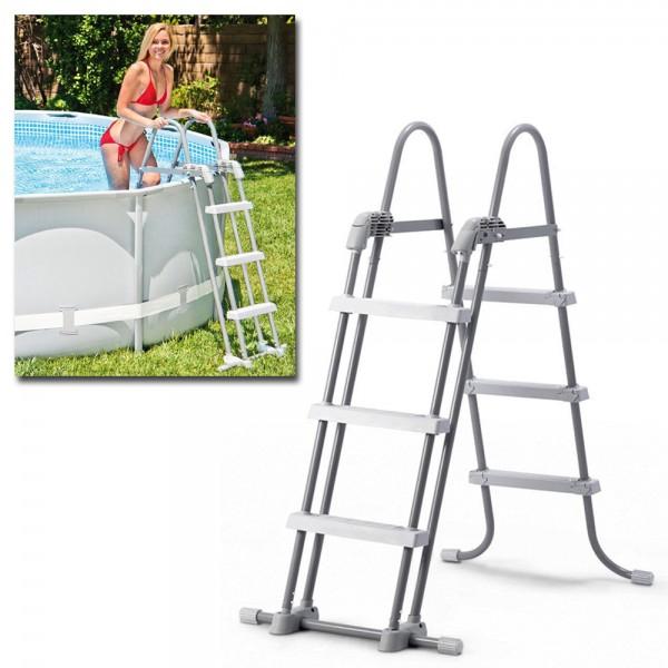 INTEX Sicherheitsleiter 91 - 107cm Pool Leiter Einstiegsleiter Easy Frame Pools