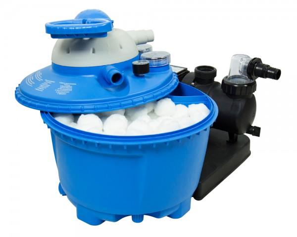 Filter Balls 700g für Sandfilteranlage entspricht 25kg Filtersand Quarzsand Pool