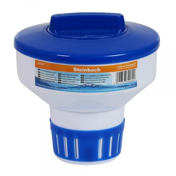 Chlordosierer Maxi für 200 g Chlortabletten Dosierschwimmer Dosierer Pool