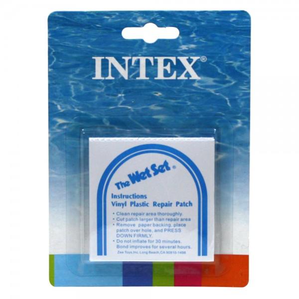 INTEX Poolreparatur selbstklebende Reparatur-Flicken 6 Stück für Pool Boote