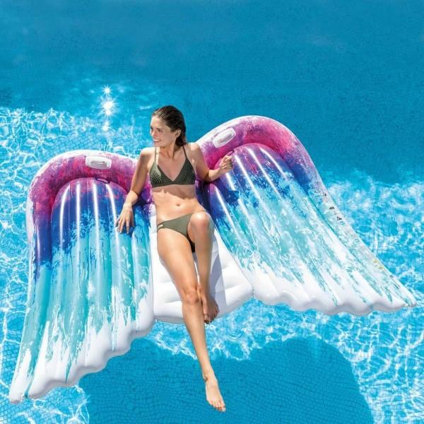 INTEX Angel Wings Engelsflügel 251x160cm Badeinsel Luftmatratze Schwimmliege