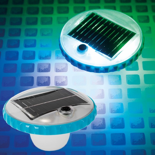 INTEX Solar LED Poollicht Beleuchtung Poolbeleuchtung Poollampe Solarleuchte